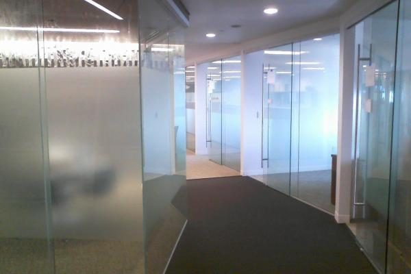 Cliffs - Huddle Rooms & Offices - with - 3M Fasara Fine Crystal