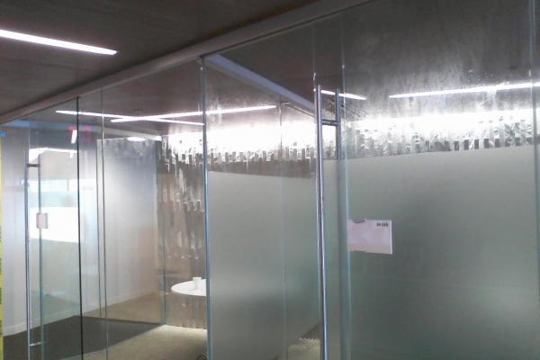 Fine Crystal Decorative Film, commercial window film covering, sunray window film installation