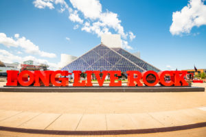 Cleveland Ohio Rock and Roll Hall of Fame & Museum with Sunray Window Films installed 3M Prestige 40 Exterior. Energy Conservation Project