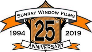Sunray 25th Year Anniversary Logo
